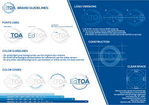 EdTOA Logo Preview Brand Guidelines